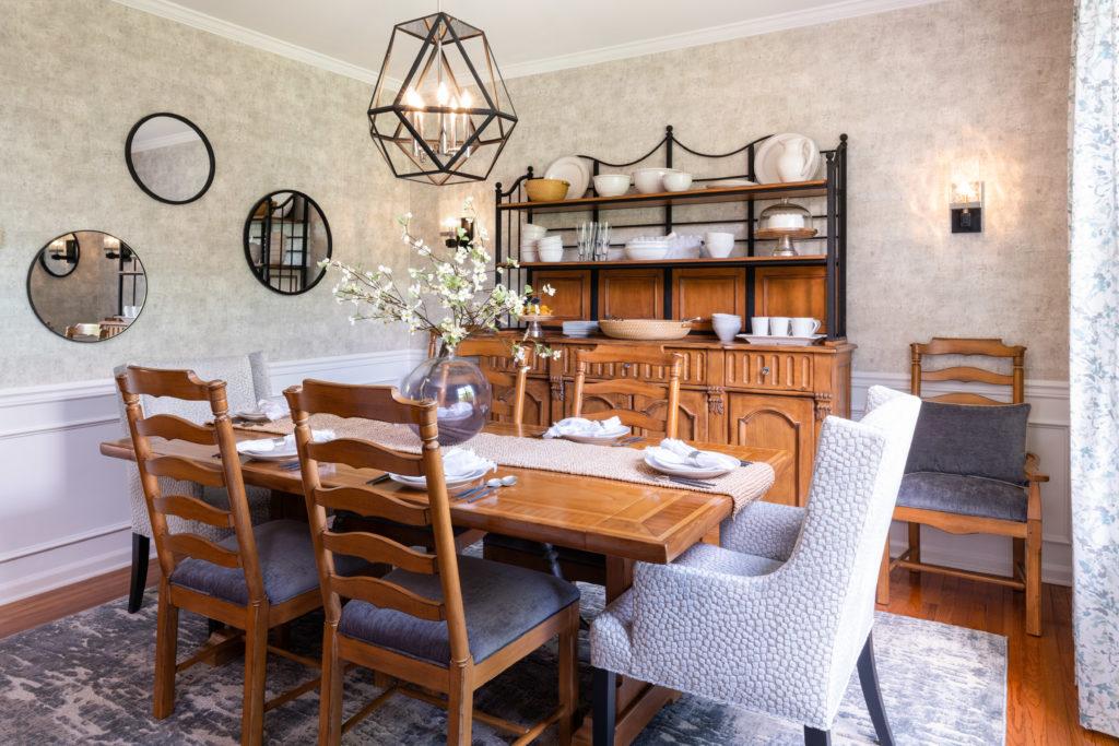 Modern Farmhouse Dining Room 1